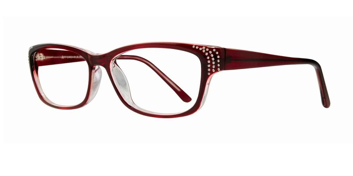Affordable Designs - Celia - Burgundy