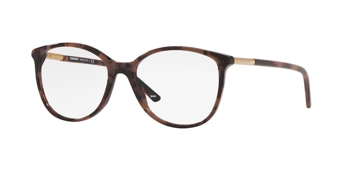 Burberry BE2128 3624 - Spotted Brown Havana