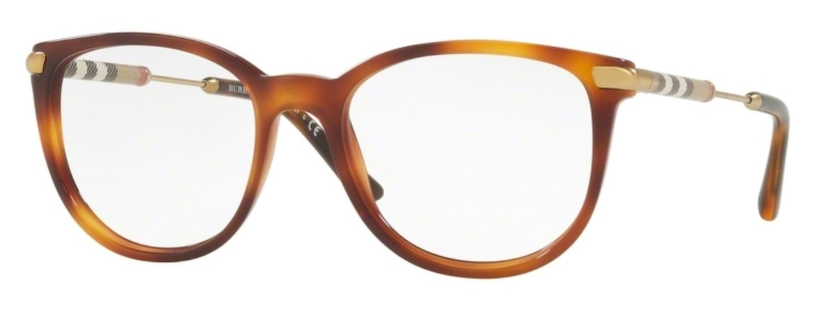 Burberry BE2255Q - 3316 Light Havana
