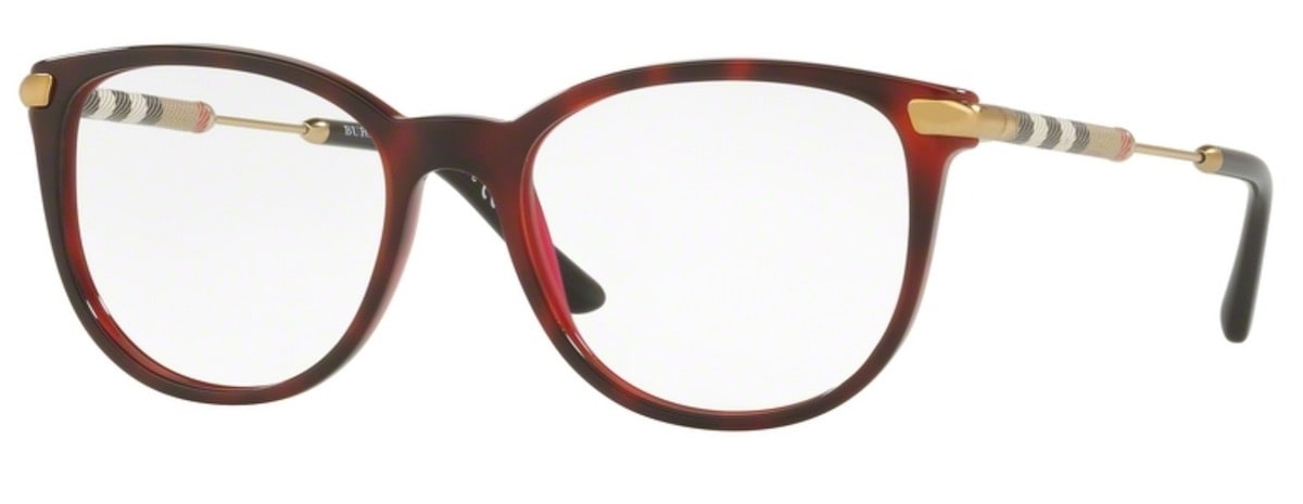 Burberry BE2255Q - 3657 Top Havana on Bordeaux