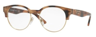 Burberry BE2261 3641 - Spotted Brown / Light Gold
