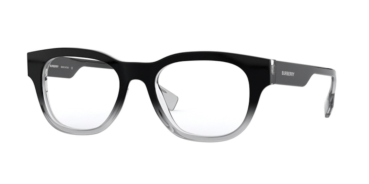 Burberry BE2306 3805 - Top Black Gradient on Transparent
