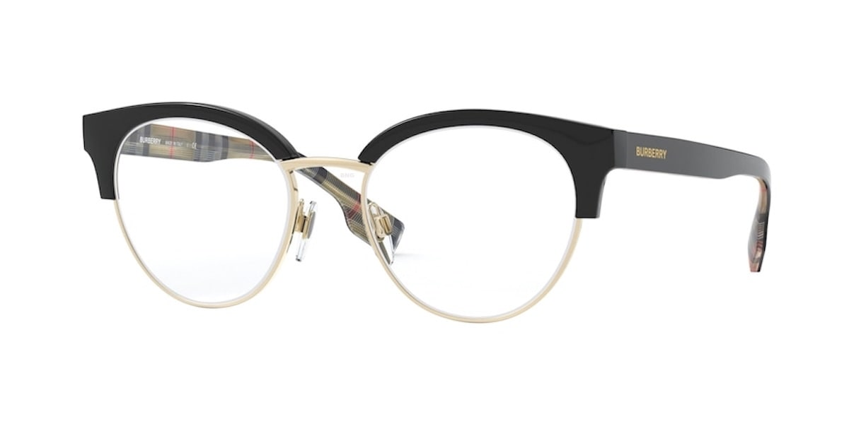 Burberry BE2316 3773 - Black / Pale Gold