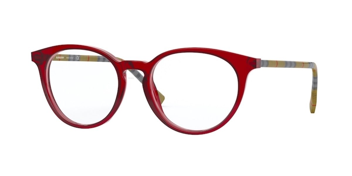 Burberry BE2318F 3859 - Transparent Red