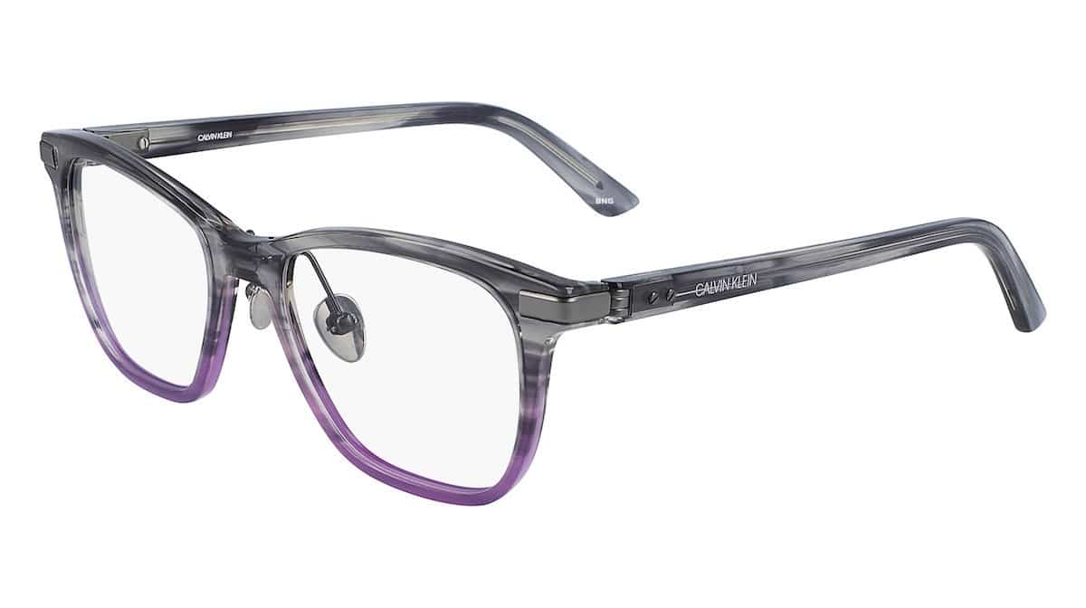Calvin Klein CK20505 077 - Smoke / Purple Horn Gradient