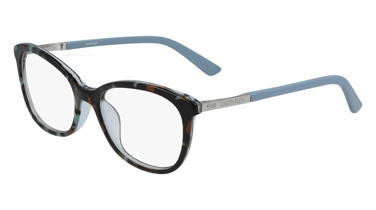 Calvin Klein CK20508 454 - Light Blue Tortoise