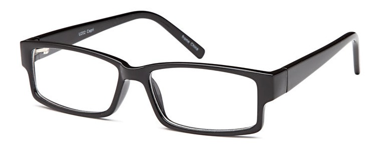 Capri U202 - Black