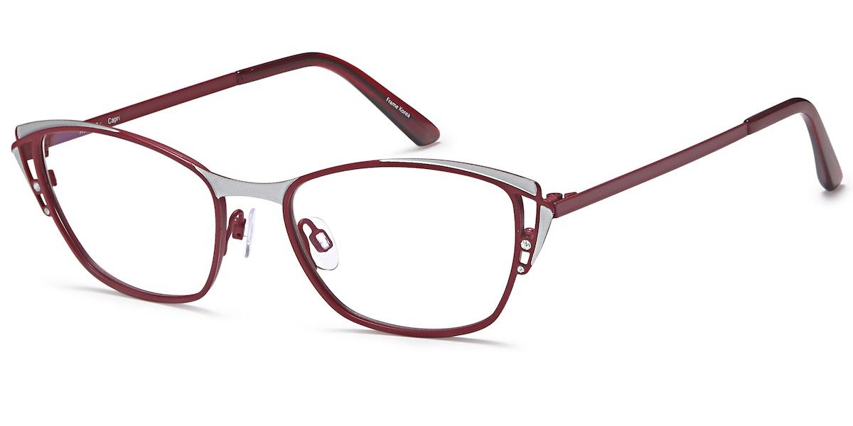 Capri AG5027 - Burgundy / Silver