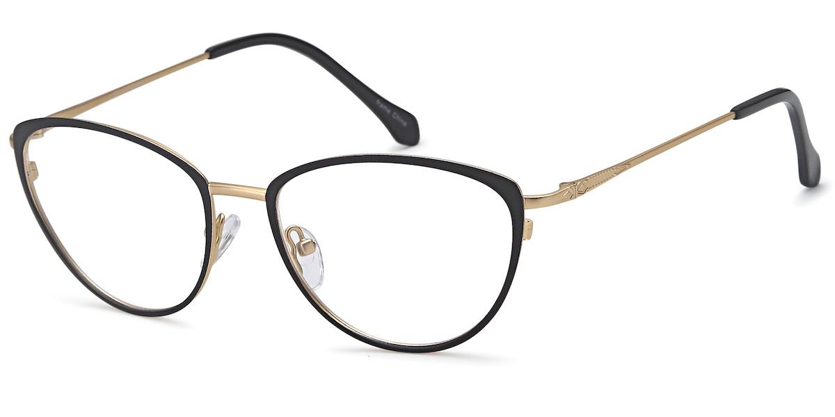 Capri DC170 - Black / Gold