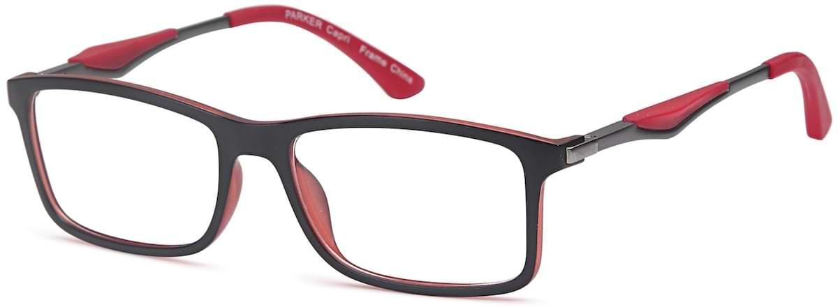 Capri PARKER - Black / Red