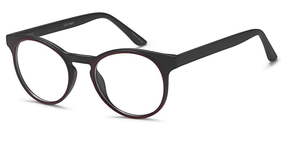 Capri LOL - Black / Red