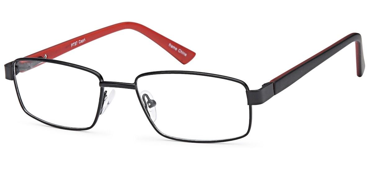 Capri PT 97 - Black / Red