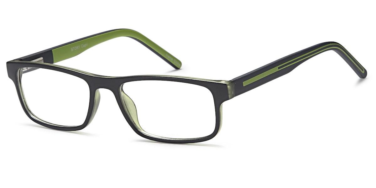 Capri Story - Black / Green