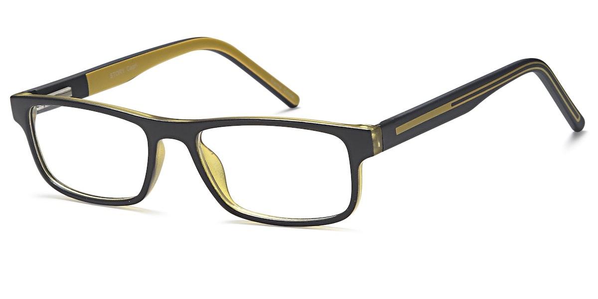 Capri Story - Black / Yellow