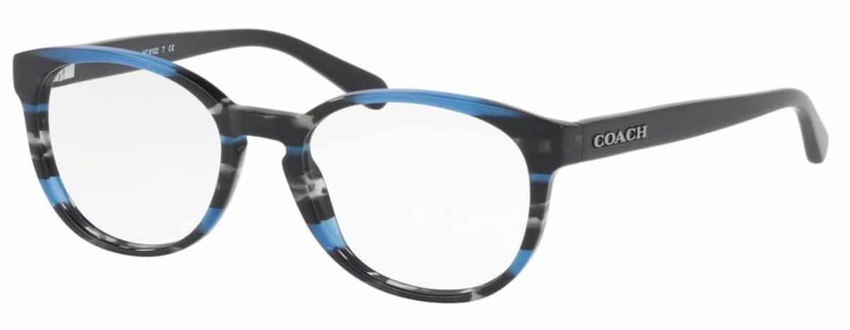 Coach HC6102 - 5477 Blue Glitter Varsity Stripe