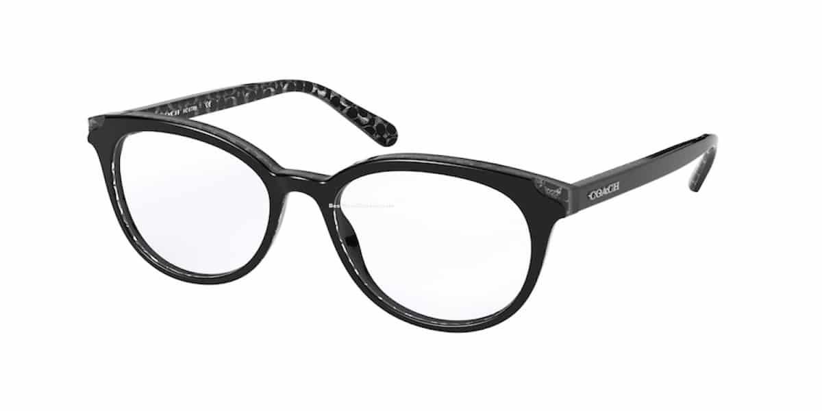 Coach HC6149 5580 - Black Glitter Sig C