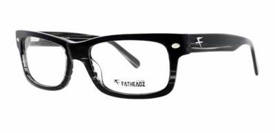 Fatheadz Foley - Black / Grey Stripes