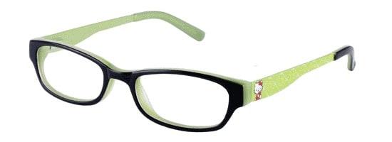 Hello Kitty HK 214-2 Black (Black/Green)