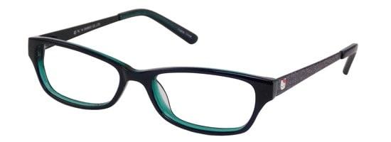 Hello Kitty HK 236-3 Black (Black/Green)