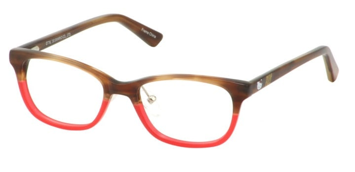 Hello Kitty HK295 1 - Brown Red