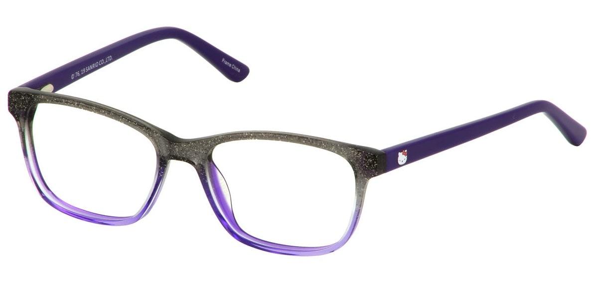 Hello Kitty HK307 1 - Purple Glitter