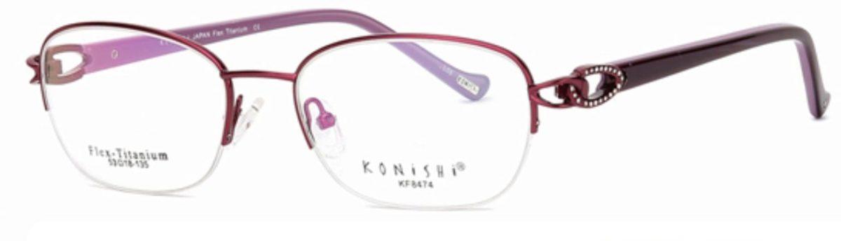 Konishi Flex-Titanium KF8474 C1 Royal Purple