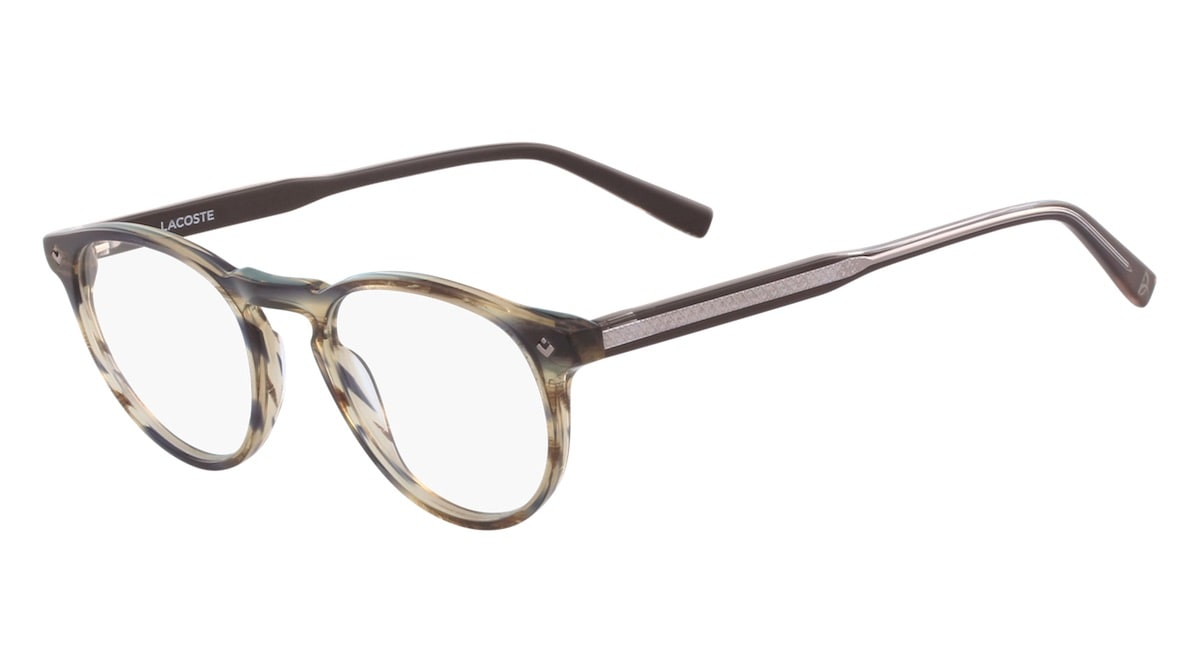 Lacoste L2601ND 210 - Striped Brown