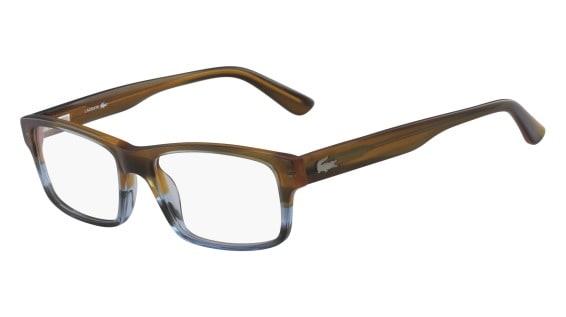 Lacoste L2705 210 - Striped Brown / Blue