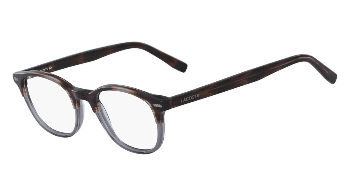 Lacoste L2833 211- Striped Brown / Grey