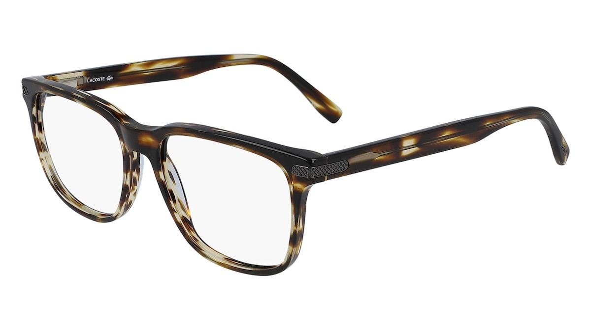 Lacoste L2840 210 - Striped Brown