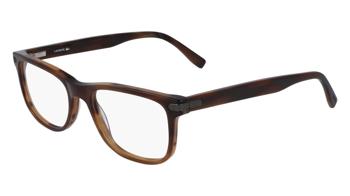 Lacoste L2841 210 - Striped Brown