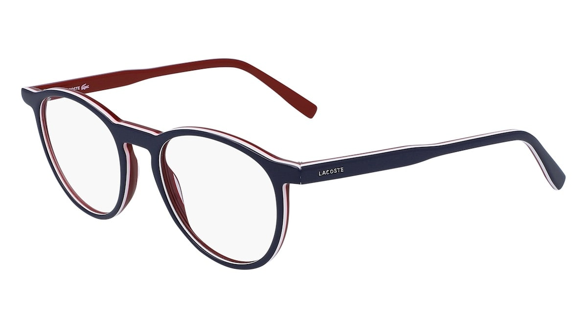 Lacoste L2844 424 - Blue / White / Red
