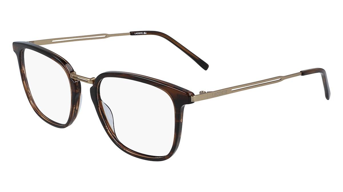 Lacoste L2853PC 214 - Havana / Striped Brown
