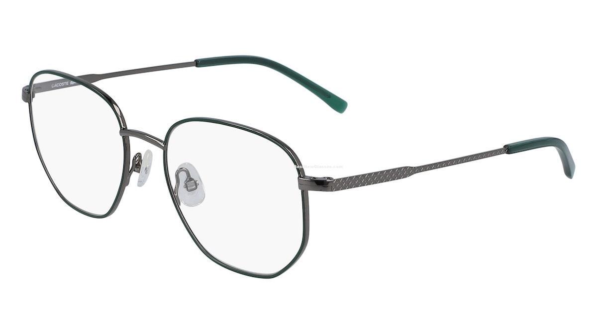 Lacoste L3110 024 - Dark Grey / Green