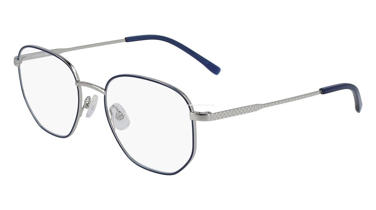 Lacoste L3110 038 - Light Grey / Blue
