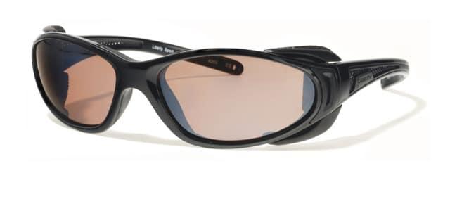 Liberty Sport - CHOPPER - Shiny Black / Matte Black with ultimate driver lens #203