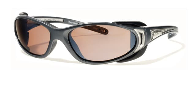 Liberty Sport - CHOPPER - Shiny Grey / Shiny Silver with Ultimate Driver lens #320