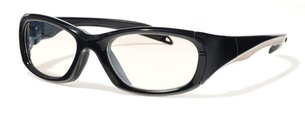 F8 MORPHEUS II - Shiny Black/Silver stripe #1