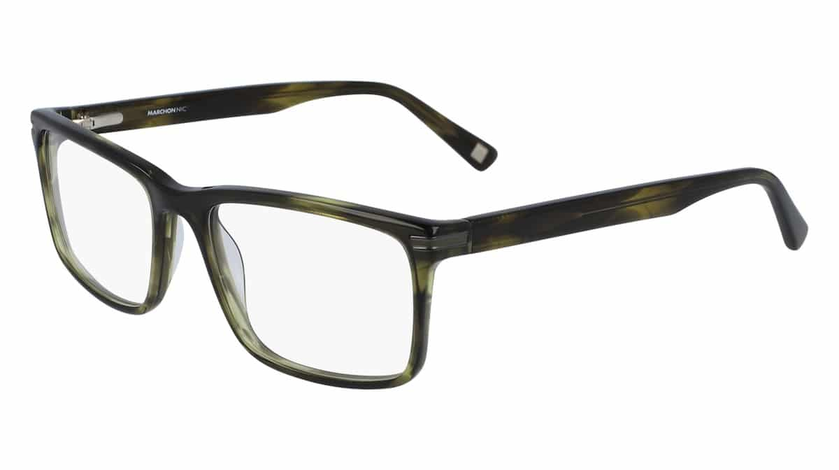 Marchon M-3003 301 - Olive Horn