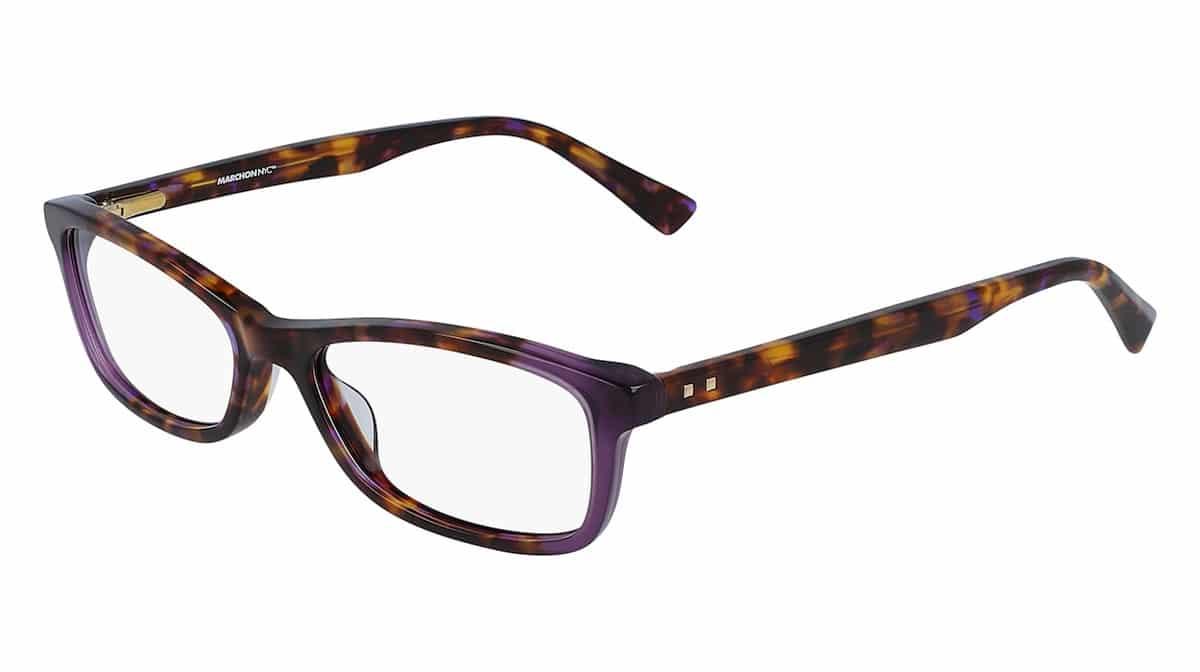 Marchon M-5503 518 - Purple Tortoise