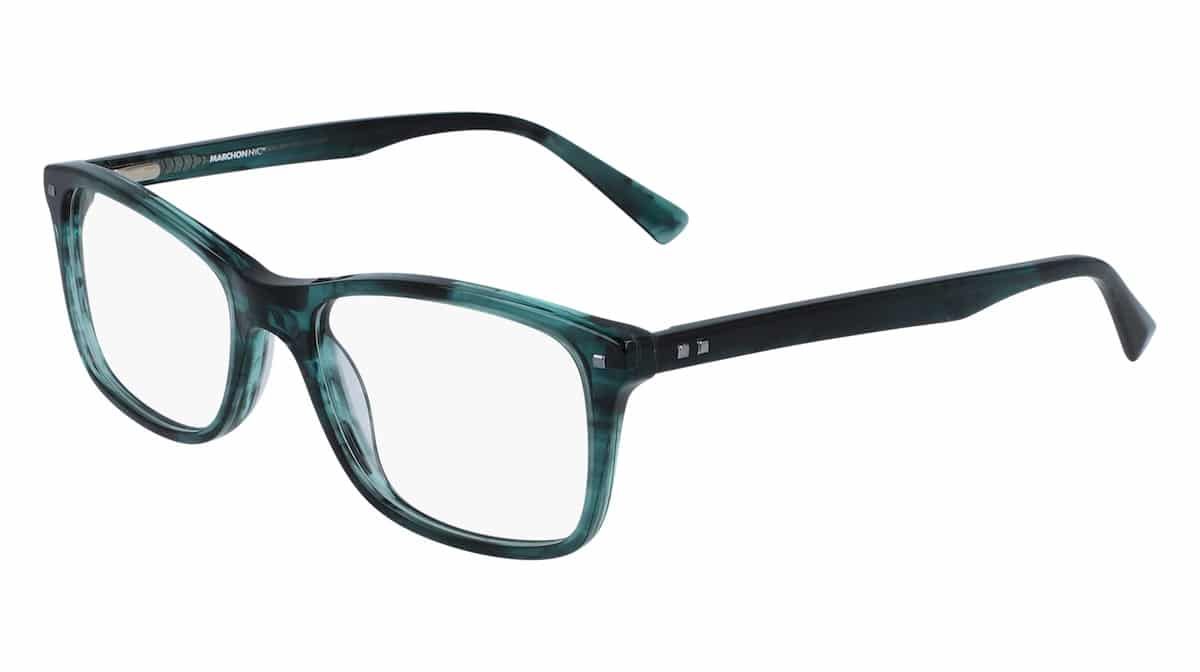 Marchon M-8500 320 Teal Horn
