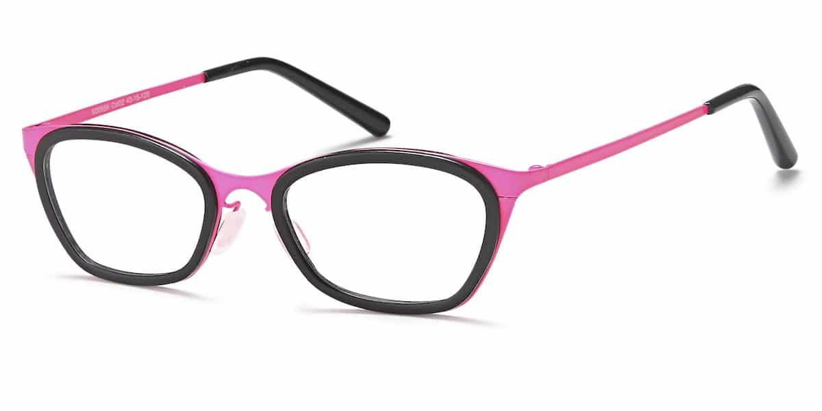 Menizzi M3056K C02 - Black / Pink