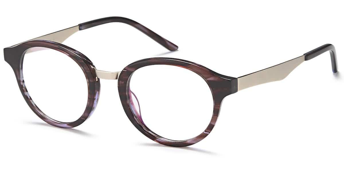 Menizzi Petite M3078 C3 - Purple / Brown