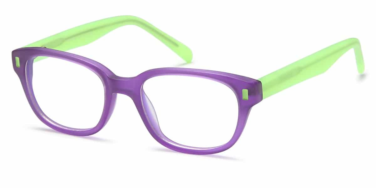 Menizzi M3034K C02 - Purple / Lime Green