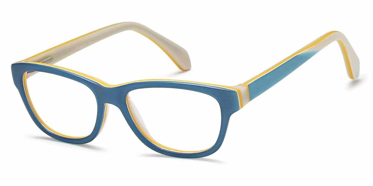 Menizzi M3082K C01 - Aqua Blue / White / Lemon