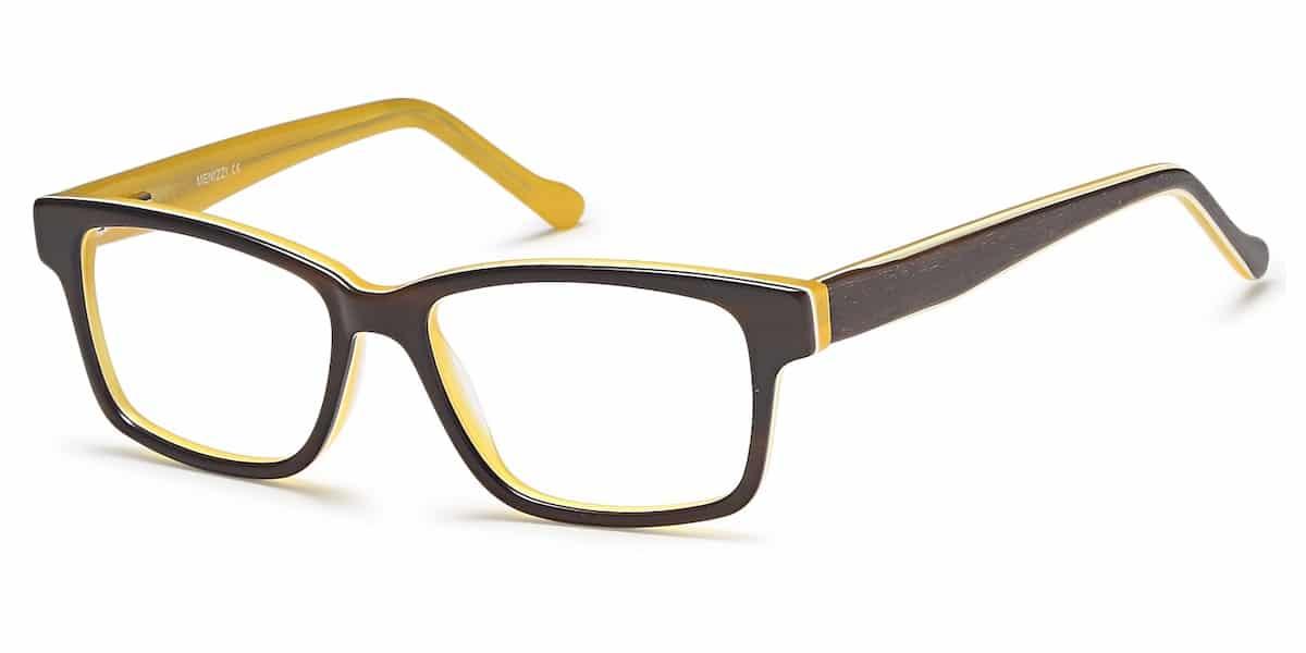 Menizzi M3086K C02 - Brown / Mustard