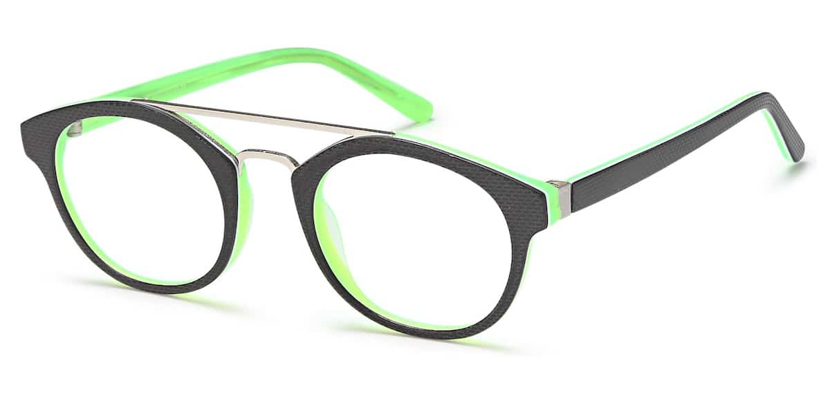 Menizzi M4028K C02 - Black / Neon Green