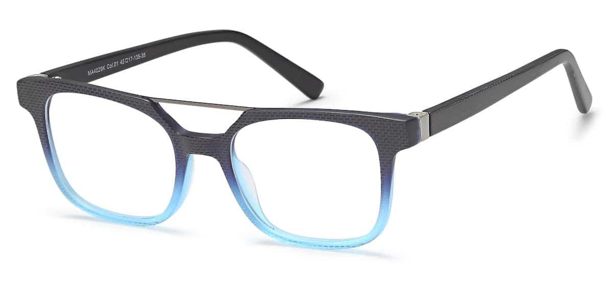 Menizzi M4029K C01 - Blue / Black