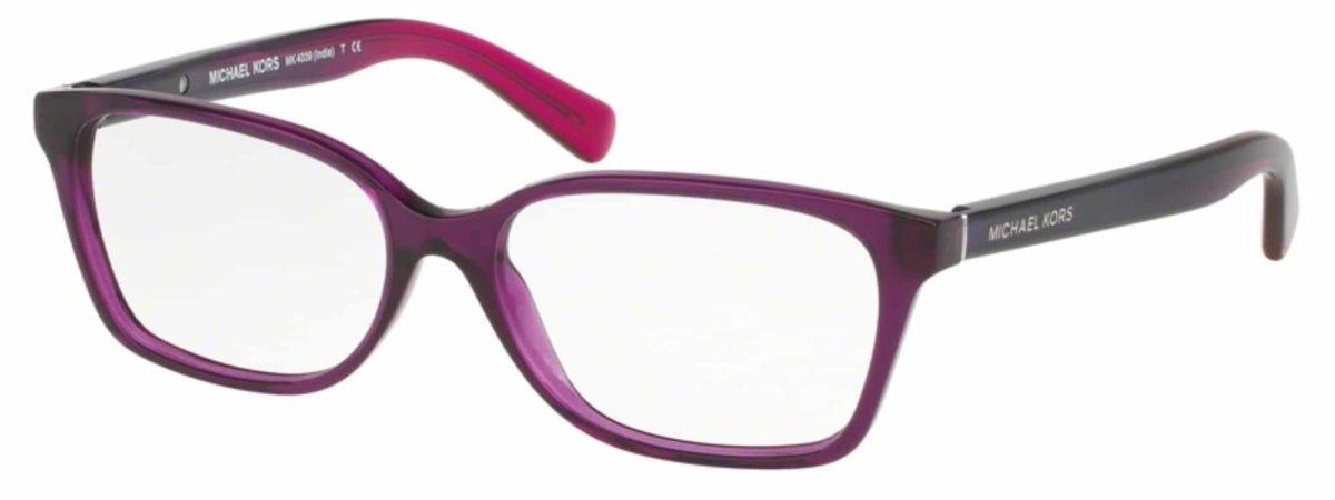 Michael Kors MK4039 - 3222 Transparent Purple