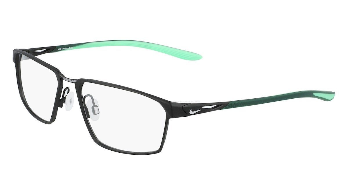 Nike 4310 005 - Satin Black / Electro Green